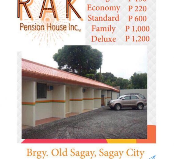 Rak Pension House Old Sagay Sagay City